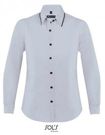 Women`s Long Sleeves Fitted Shirt Baxter